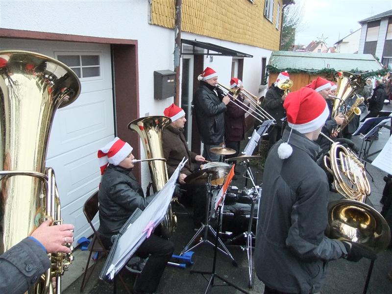Weihnachtsmarkt Otzberg.Musikverein Mümlingtal Weihnachtsmarkt Otzberg